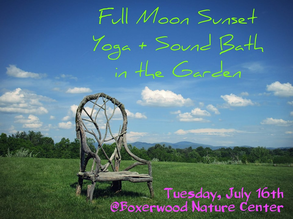 July 16 – Full Moon Sunset Yoga & Sound Bath